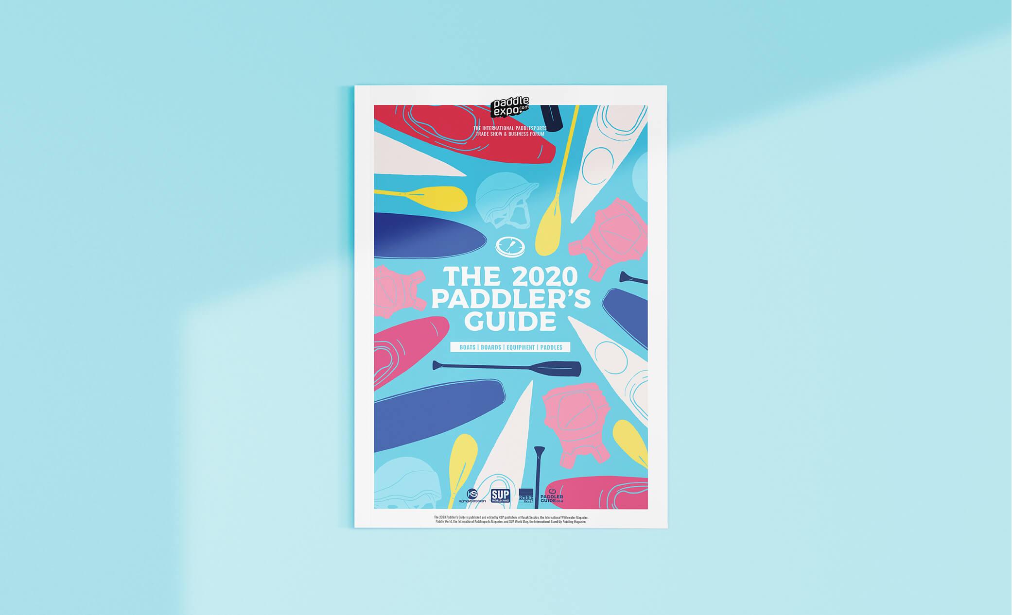 couverture du paddler's guide 2020